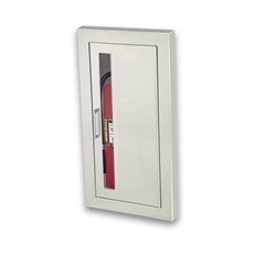 JL 1836V10 Semi-Recessed 5 lbs. Extinguisher Cabinet