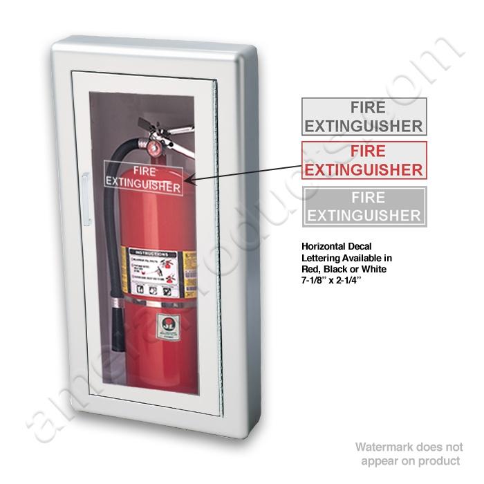 Jl Academy Aluminum 1027f10 Semi Recessed 10 Lbs Fire