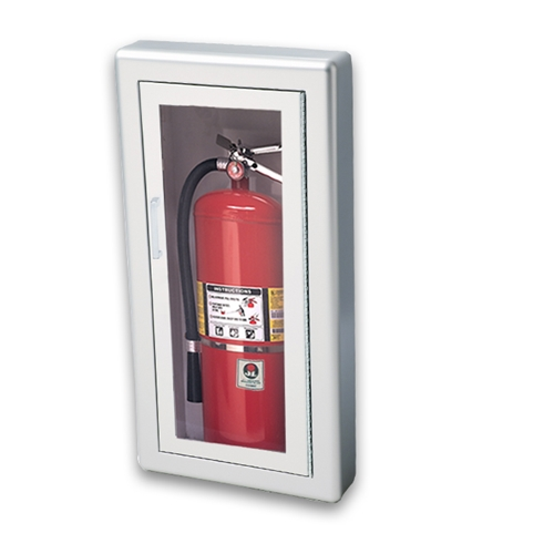 JL Academy Aluminum F SemiRecessed Lbs Fire - Jl fire extinguisher cabinets