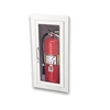 JL Ambassador 8115G10 Recessed 5 lbs. Fire Extinguisher Cabinet with Lock