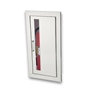 JL Cosmopolitan Stainless Steel 8136V10 Recessed 5 lbs. Fire Extinguisher Cabinet