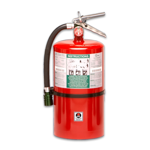 Mercury 15-1/2 lb fire extinguisher
