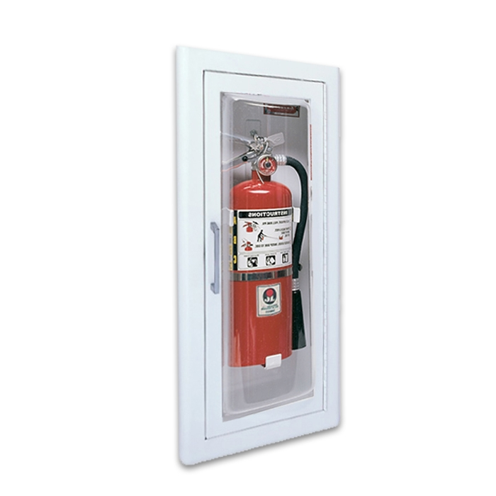 Replacement Acrylic and Glass Glazing for Fire Extinguisher Cabinets