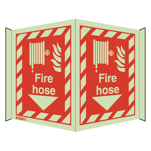 Fire Hose Safety Sign