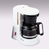 Jerdon CM410WD 4 Cup In-Room Coffee Maker White