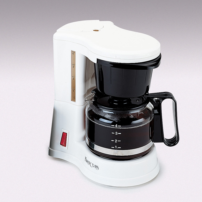 How To Use Jerdon Coffee Maker : Jerdon CM410WD 4 Cup In-Room Coffee Maker White #JP-CM410WD
