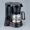 Jerdon CM430WD 4 Cup In-Room Coffee Maker Black