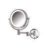 Jerdon Model HL88CL 8X Wall Mounted LED Lighted Mirror - Chrome