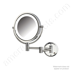 HL88CLD LED Wall Mirror Chrome Hard Wired