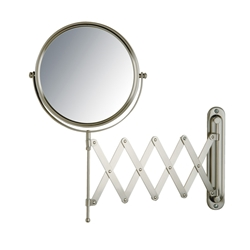 "Jerdon JP2027N 7X Magnification 8"" Makeup Mirror - Nickel"
