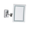 "Jerdon JRT710CLD 6.5"" x 9"" LED Lighted Rectangular Wall Mounted Mirror Direct Wired"