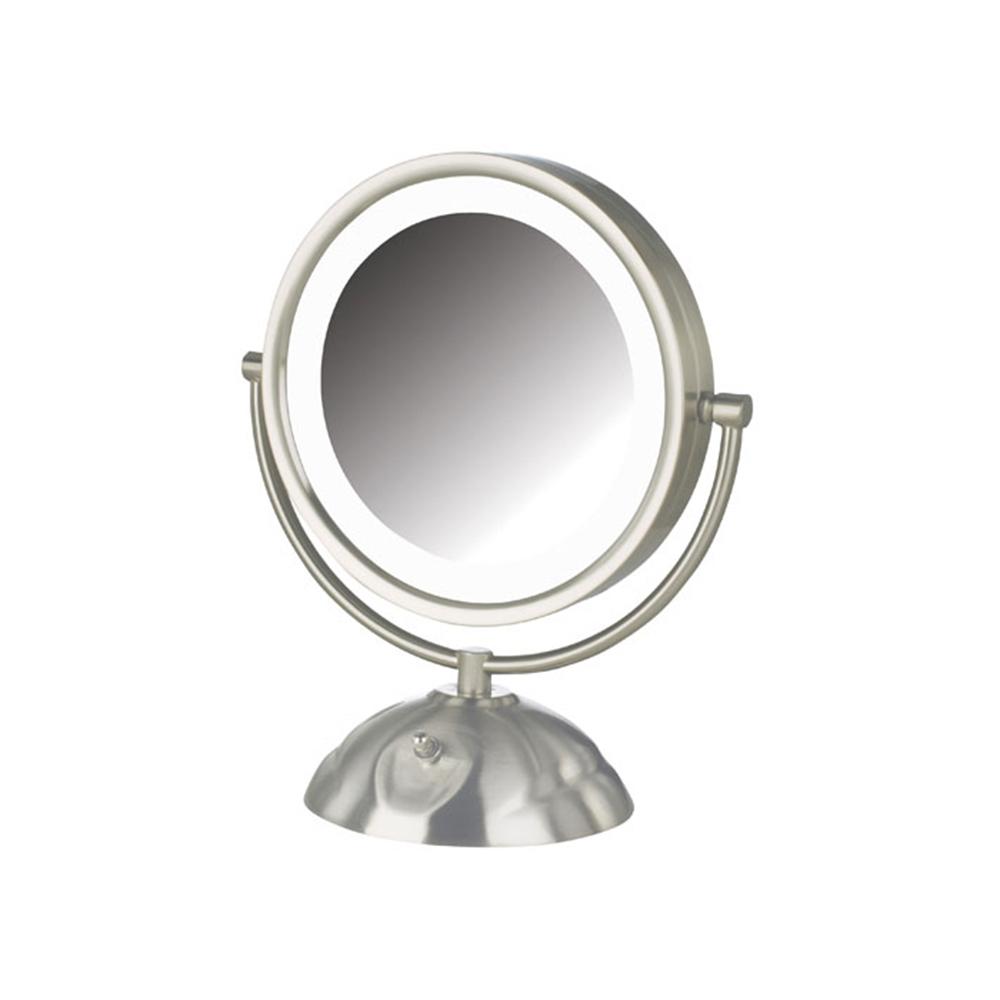 - Jerdon Model HL8505NL 8X LED Lighted Vanity Mirror #JS-HL8505NL