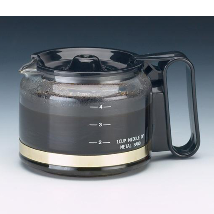 Jerdon JRC305 Glass Replacement Carafe for 4 Cup Coffee Makers #JP-JRC305