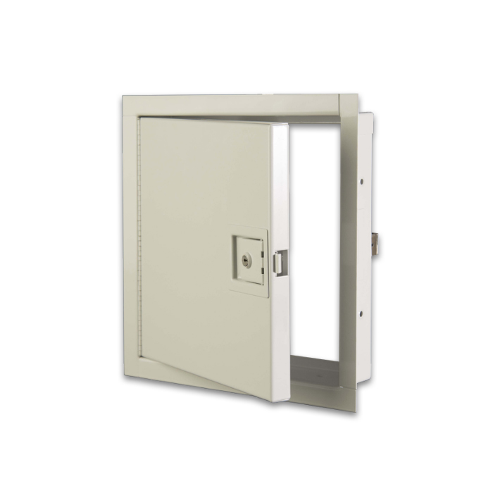 Fire Rated Access Doors : Karp non insulated fire rated access door for walls only