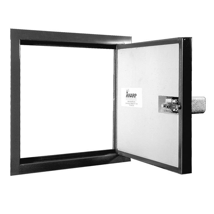 Karp insulated exterior access door mx ka mx for Insulated entry door