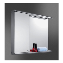 Stainless Steel Cabinet & Mirror Combo 3528L