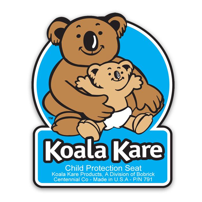 Koala child protection seat decal model kb791 kb791 - Koala components ...