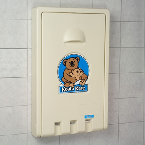 Koala Kb101 Baby Changing Station Vertical Design Kb101