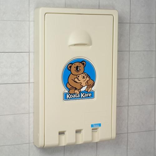 Koala Kb101 Baby Changing Station Vertical Design Kb101