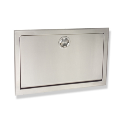 Koala Stainless Steel Baby Changing Station - Horizontal Design - Model KB110-SSRE