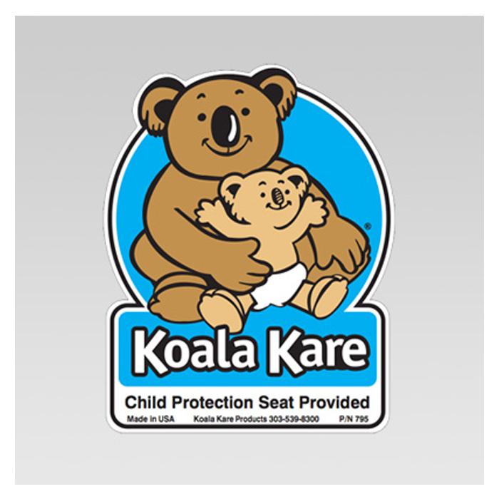 Koala restroom door label for kb102 model 795 kb795 - Koala components ...