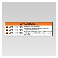 Koala 975 Warning Label