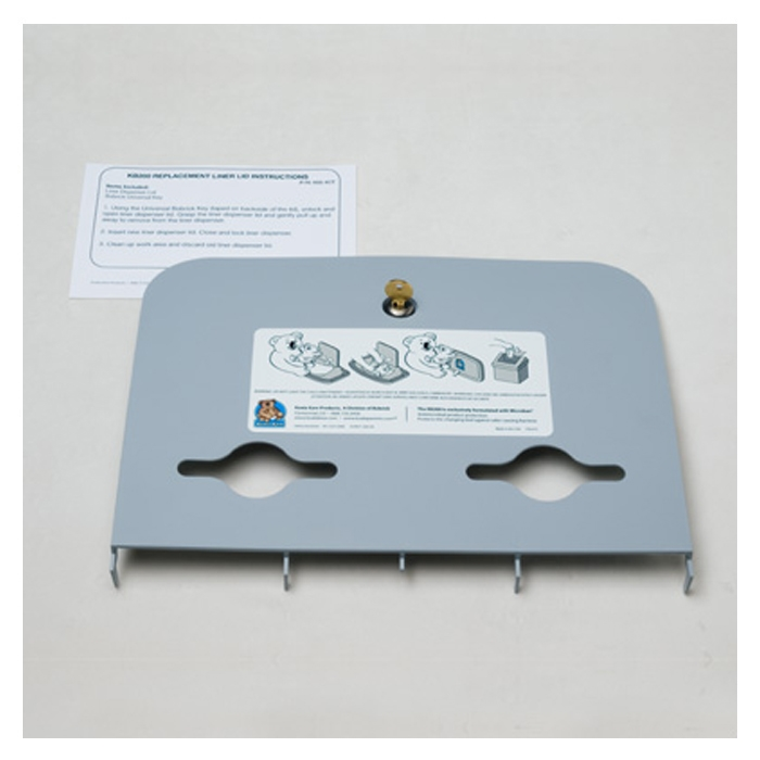 Liner Dispenser Lid Kit - Grey 466-01-KIT