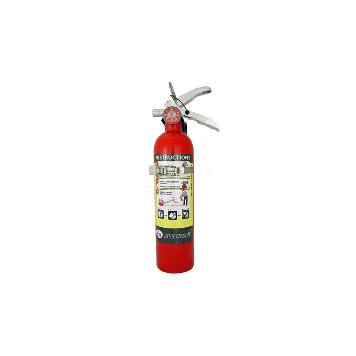 Badger Advantage Adv 250 2 5 Lb Fire Extinguisher With
