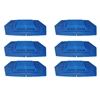 Urinal Screen - SplashGuard™ Anti-Splash 6 Pack