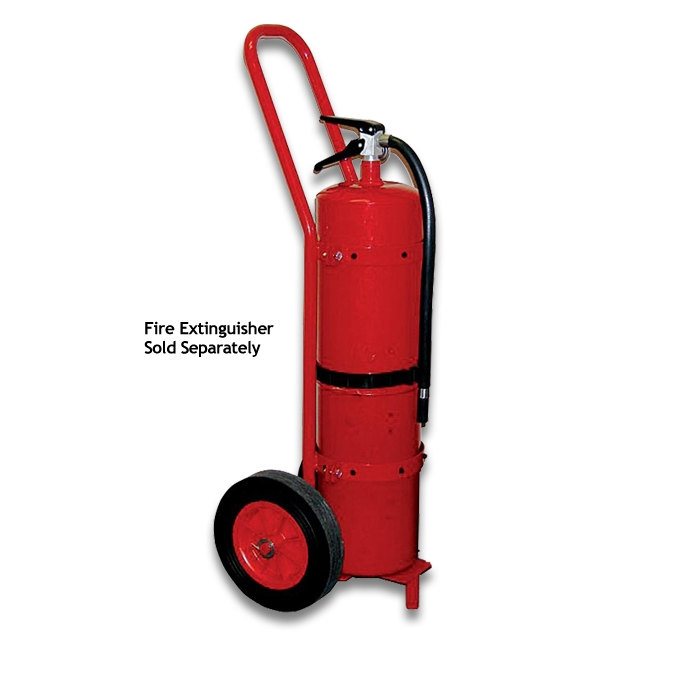 Wheeled Trolley Cart for 30lb. ABC Extinguishers 033