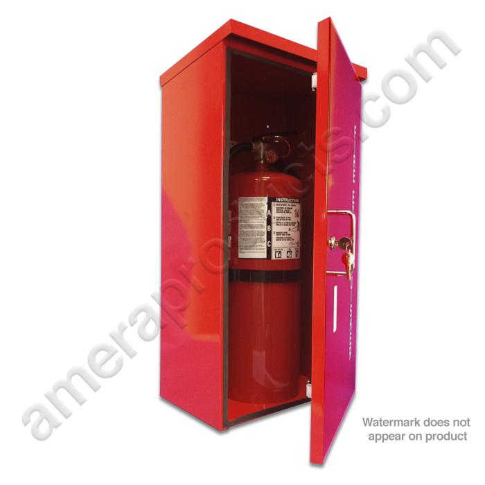 Heavy Duty Outdoor Fire Extinguisher Cabinet Model AHDOC - Outdoor fire extinguisher cabinets