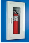 Semi-Recessed Fire Extinguisher Cabinet - Model A-116