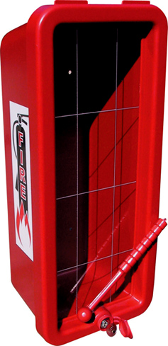 Plastic Fire Extinguisher Cabinet Red Pc 105 Red Ca Pc 105