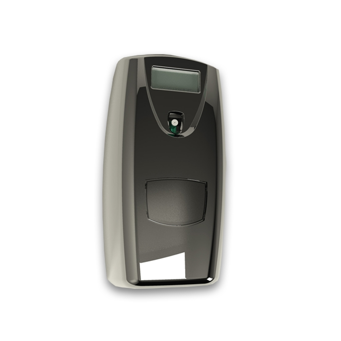 Micro Airoma Aerosol Dispenser Lcd Bright Chrome Bdis