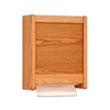 Wooden Paper Towel Dispenser by Wooden Mallet WCT1