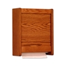 Wooden Mallet Paper Towel Dispensers (Medium Oak )