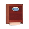 Oak Combo Paper Towel / Glove Dispenser