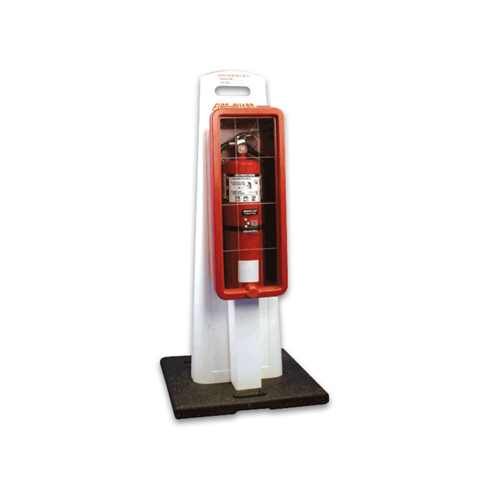 Portable Fire Extinguisher Cabinet For 10 Lbs Extinguisher