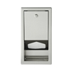 Brocar by Foundations 200-SSLD Stainless Steel Recess Mounted Liner Dispenser