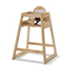Foundations 4501049 Ultimate Food Service High Chair - Natural