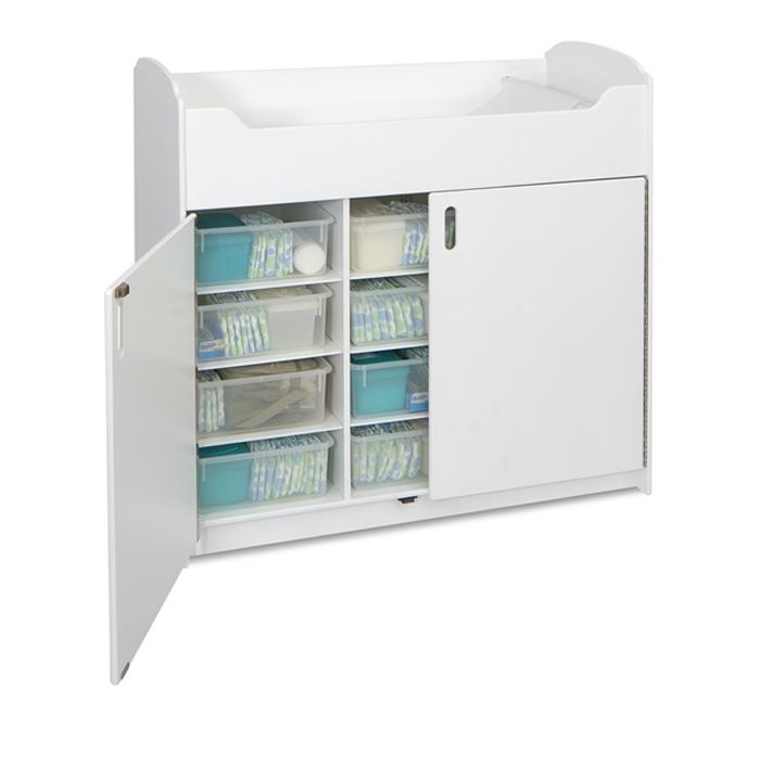 Convenient Cabinet Storage ...
