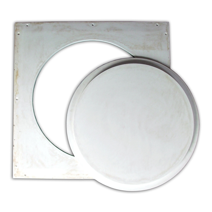 Stealth Round Access Panel