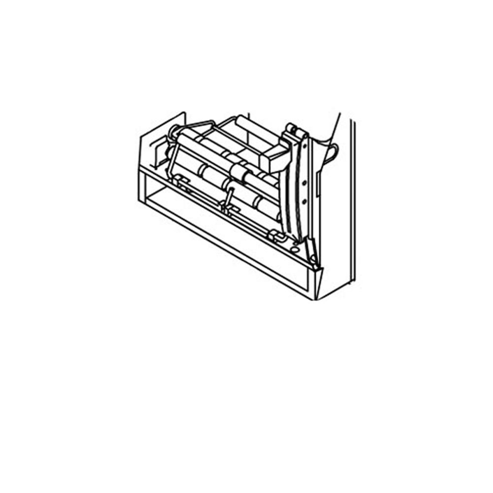 Asi 8370 Manual Lever Operated Towel Dispenser Mechanism