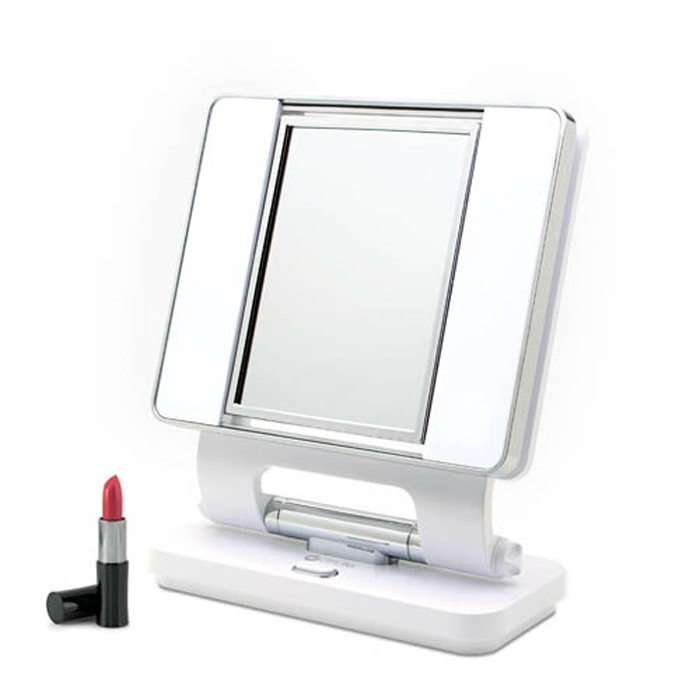 lighted magnifying makeup mirrors. Illuminated Make-Up Mirror