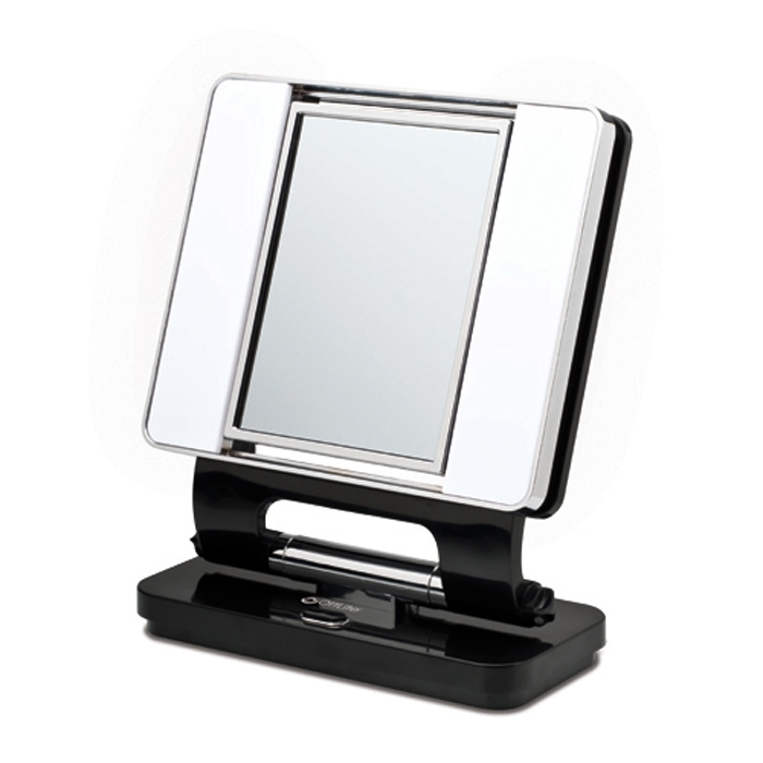 lighted magnifying makeup mirrors. Illuminated Makeup Mirror
