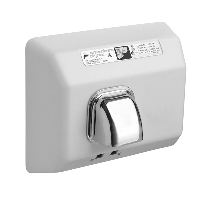 Cast Iron Automatic Recessed Hand Dryers