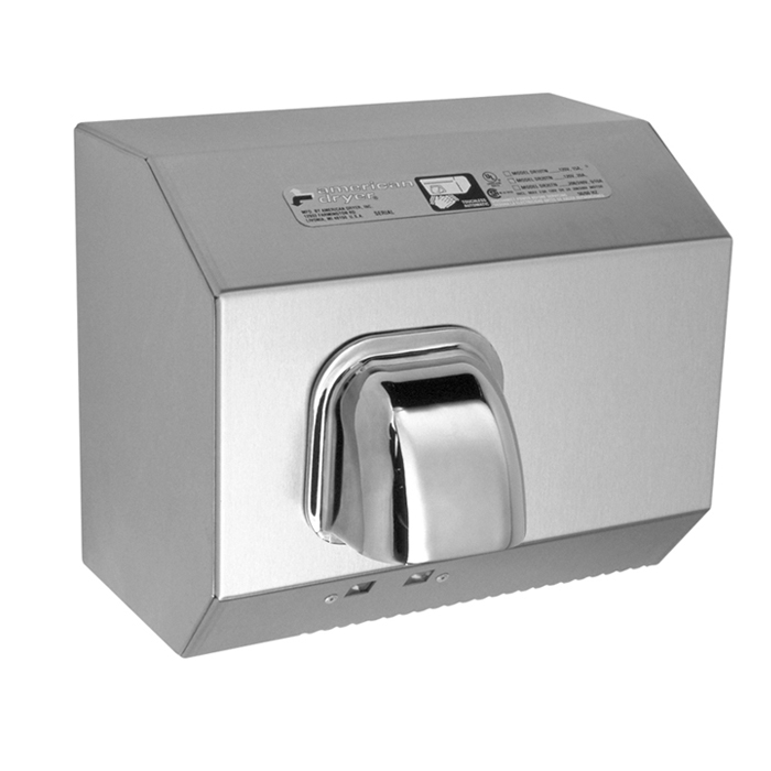 DR Series Automatic Stainless Steel Hand Dryers