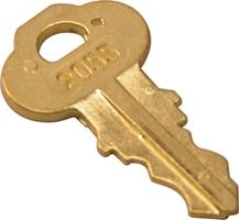Bradley 2055 Or Bradex Dispenser Keys 5 Pack P15 398 Br