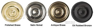 6 Satin Nickel Brass Accents A07-K6551-619 Traditional Door Knocker