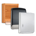 C-Fold or Multifold Paper Towel Dispensers
